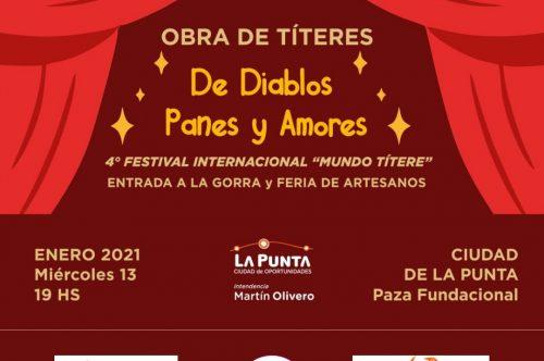 Llega a La Punta el 4 Festival Internacional de Títeres del Mundo